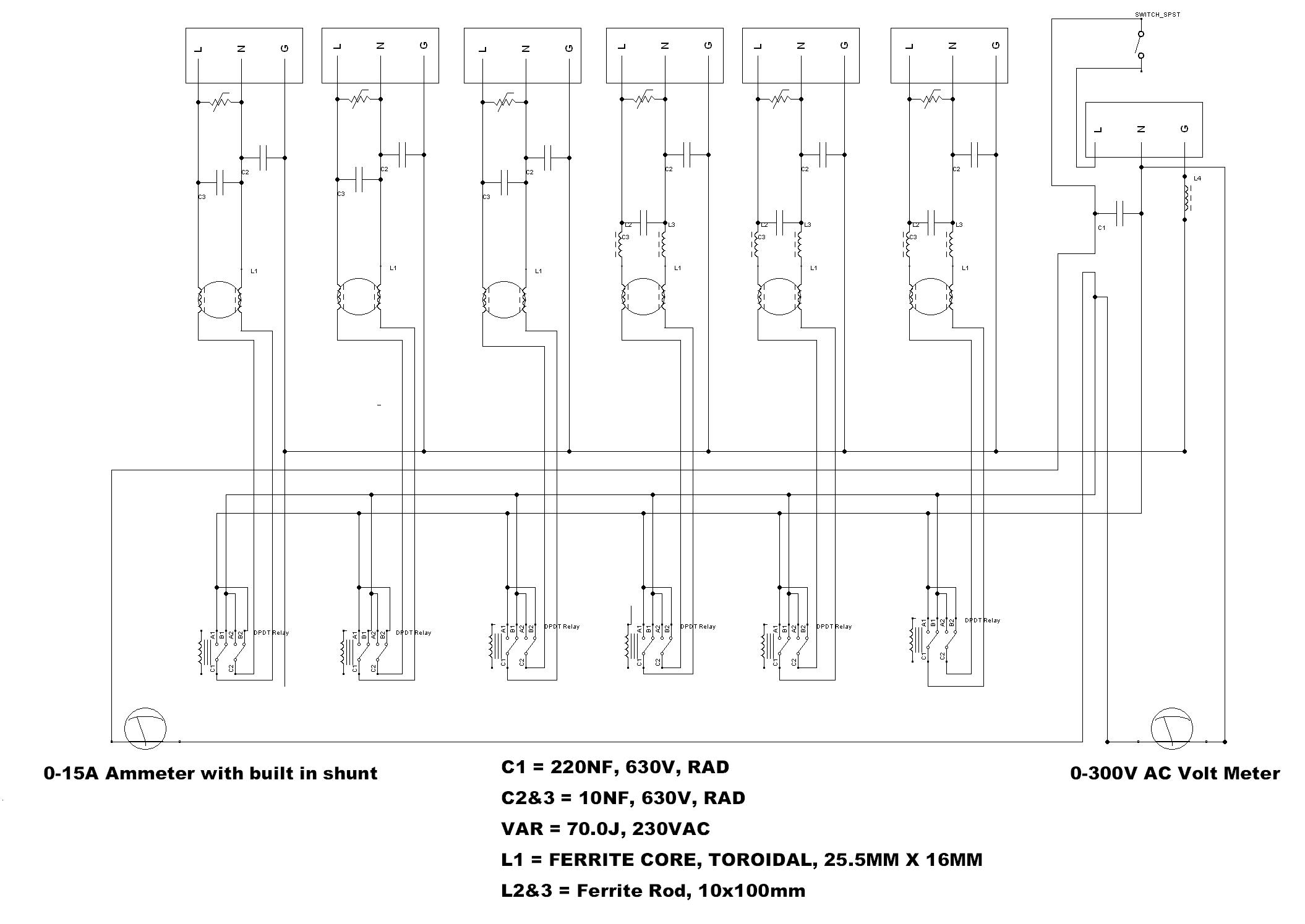 Hifi 230v Ac Mains Conditioner Project